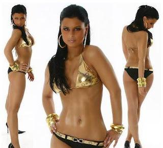 gouden bikini