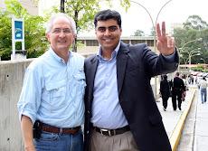 Asistieron el Alcalde mayor de Caracas Antonio Ledezma, y Alcalde de Chacao Emilio Graterón