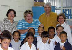 """""""Un vaso de leche"""" en la Escuela María May de El Calvario, donde se beneficiarán a los estudiantes"""