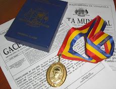 para honrar a ciudadanos insignes y de reconocida trayectoria y que será impuesta por primera vez