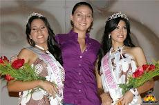 Participante del UNEPAS Paola Vera, participó en elección de las representantes del Miss Caribbean