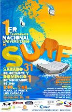 Montados  en la Ola la Universidad Nueva Esparta estará en el campeonato de SURF Universitario