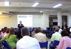 Entrenamiento a cargo del Lic. José Gregorio Díaz, facilitador