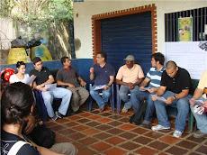 Primera Visita a la Comunidad de Papelón en Sabaneta del Hatillo por estudiantes de la UNE