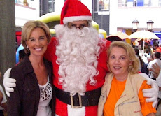 Diana D´Agostino Santa Claus y  Maria Margarita Rodriguéz