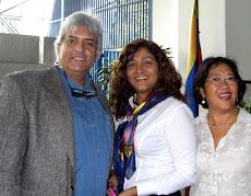 Juan Miguel Avalos, Rossy Zapata y Marianela Lum Misa y Acto de grado XXX