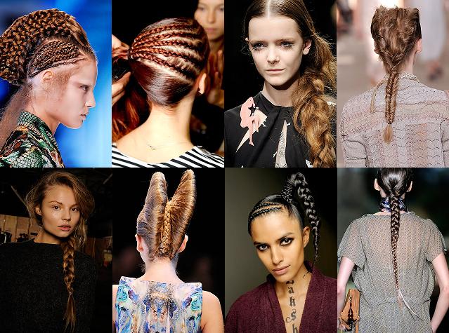 Autumn Winter 2007-08,hair,hairstyles Gardem catwalk hairstyle