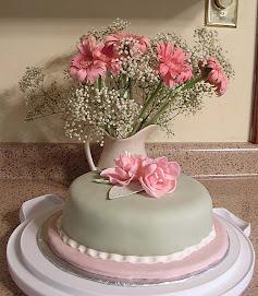 Fantasy Flower Cake for Mother's Day
