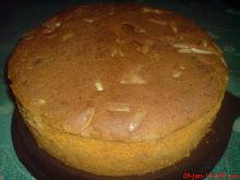 kek walnut lobak merah