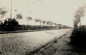 AV. PROVINCIAS UNIDAS Y LAS HERAS, año 1946  -AYER-