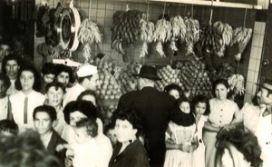 Año 1955 - INAUGURACION DEL MERCADO CÓRDOBA- Av. Provincias Unidas (Hoy J. M. de Rosas) y Cabral