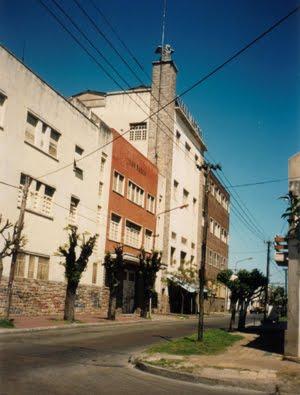 La ex-Textil San Marcos, creada 1930 (circa) calle Acha y Colón, desactivada años '90.