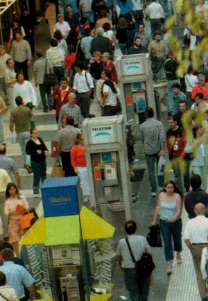 Calle Florida Peatonal - en año 2005