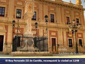 España - Sevilla: Archivo General de Indias (Orígenes del nuevo mundo)