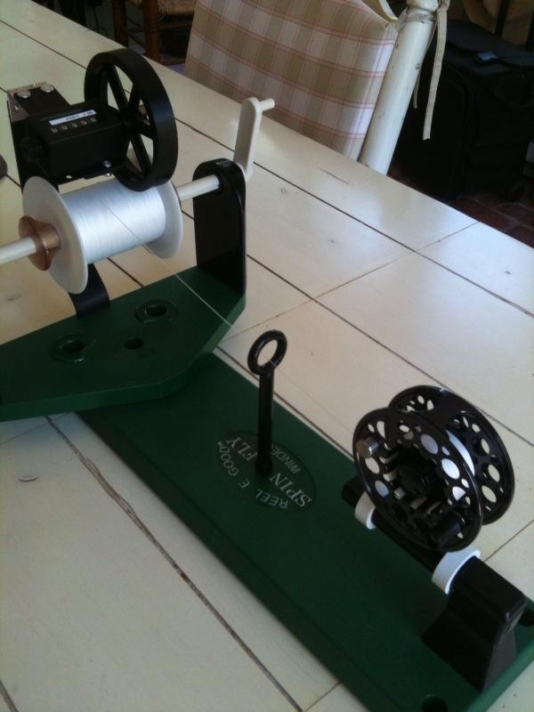 Fly line winder related keywords fly line winder long for Fishing line winder machine