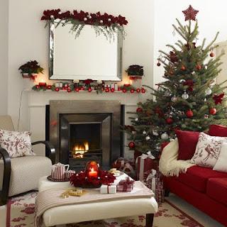 Decoracin e Ideas para mi hogar Salas con chimeneas decoradas para