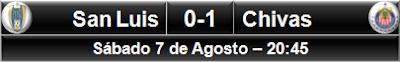 San Luis 0-1 Chivas