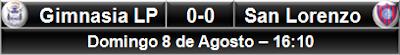 Gimnasia LP 0-0 San Lorenzo