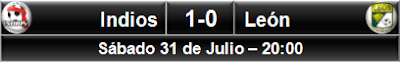 Indios Ciudad Juárez 1-0 León
