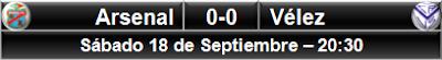 Arsenal Sarandí 0-0 Vélez Sarsfield