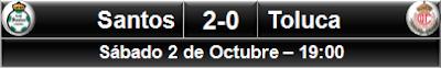 Santos 2-0 Toluca