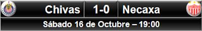 Chivas 1-0 Necaxa