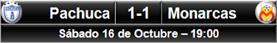 Pachuca 1-1 Monarcas