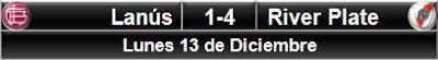 Lanús 1-4 River Plate