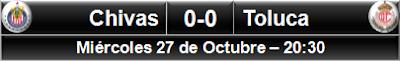 Chivas 0-0 Toluca