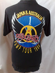 VTG Aerosmith  Pushead(back)