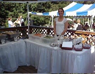 Bridgette Amp Co Catering BBQ Wedding Reception