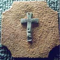 Cruz exhumada ruinas Santa Fe la vieja