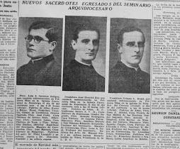 ORDENACIONES SACERDOTALES 1934
