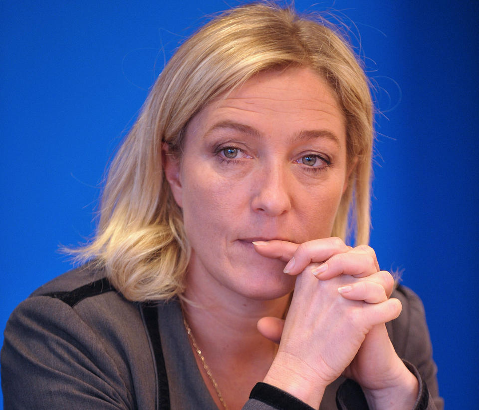 The Moderate Man: MARINE LE PEN Wins Party Leadership
