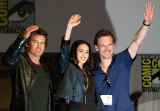 Megan Fox, Josh Brolin and Michael Fassbender