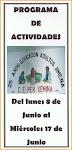 Programa del XXV Aniversario Educación de Adultos