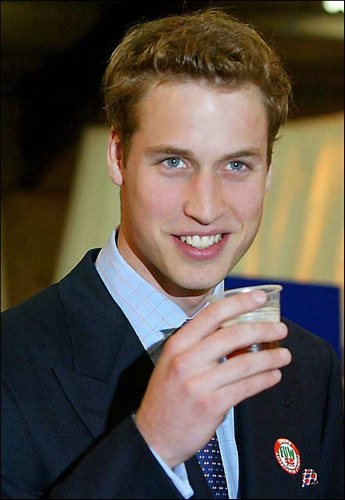 is prince william balding prince. prince william balding