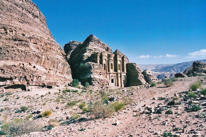 El monasterio sin turista. Un lujo