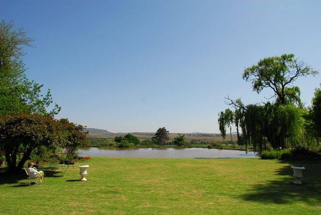 Vistas desde la terraza en Aliwal North