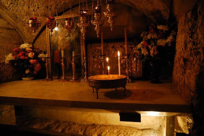 La tumba de la Virgen María
