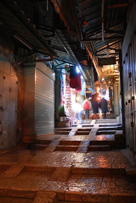 Las callejuelas de Jerusalén