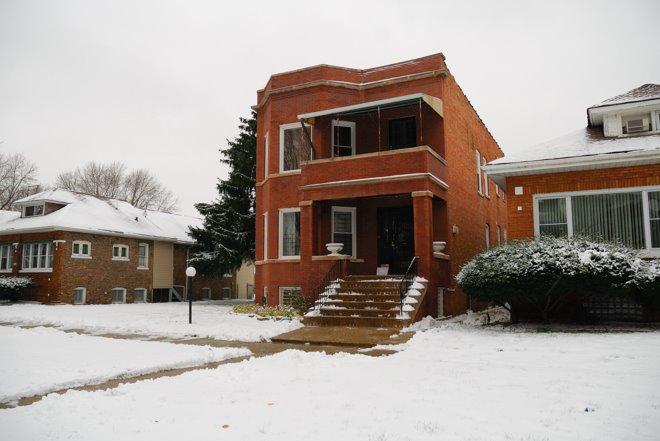 La casa que Al Capone tenia al sur en las afueras de Chicago