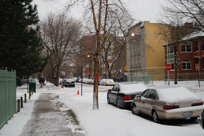 Casi cada día nevando!