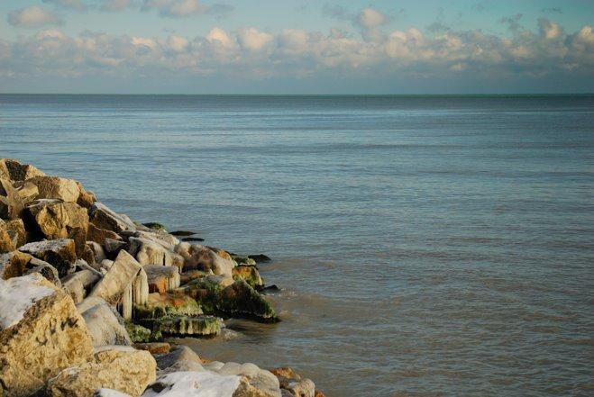 El lago Michigan