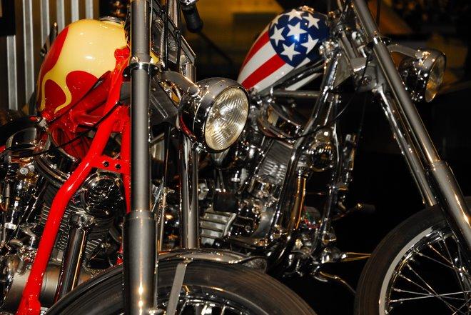 """Las dos famosas de """"Easy Rider"""""""