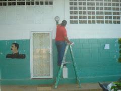 Segunda Actividad de Pintura en la Escuela