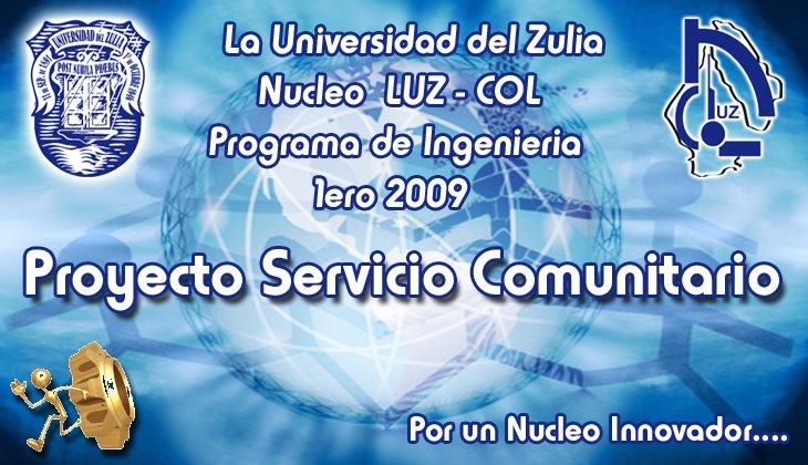 Proyecto Servicio Comunitario de LUZ - COL