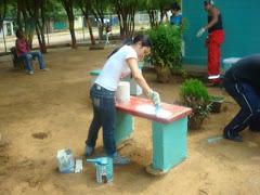 pintado las plazas