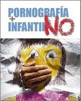 Contra la pornografia infantil, grita NO