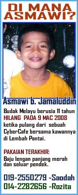 MISSING CHILD